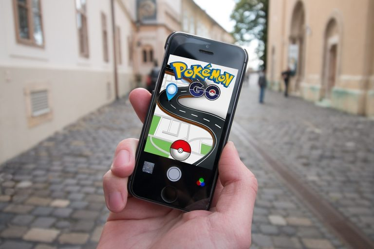 pokemon-go stockafbeelding