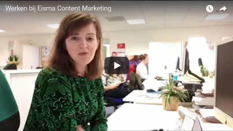vacature content marketing journalist Eisma Content Marketing